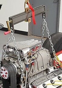 Adjustable Engine Leveler With Chain And Bolt On Brackets