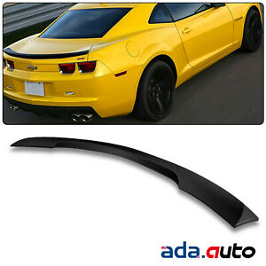 For 2010 2013 Chevy Camaro Ss Black Oe Style Abs Matte Rear Trunk Wing Spoiler