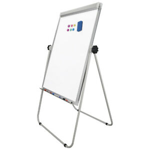 36x25 Marker Pen Double Side Magnetic White Board Dry Erase Board Eraser Office