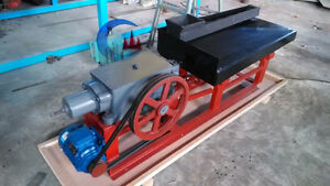 New Gold Panning Machine 1 Meter Shaking Table Mineral Separation Shipped By Sea