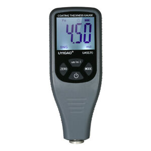 Uyigao Ua5170 Handheld Lcd Digital Paint Coating Thickness Gauge Tester A2l6