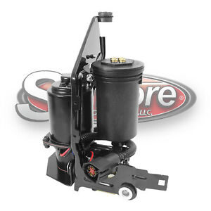 1997 2006 Ford Expedition Air Suspension Air Compressor Pump W Full Cage