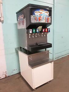 cornelius 2230akg H d Commercial Lighted 6 Heads Soda Dispenser W cabinet