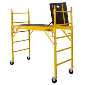 Metaltech Material Handling Scaffolding Set Ladders Scaffold 1100 Lbs Capaticy