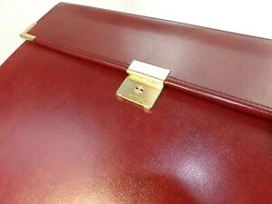 Legal Pad Portfolio Hazel Faux Leather Brass Lawyer Attorney Student Binder