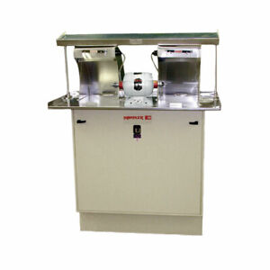 Handler 60fc ts Special Polishing Unit Dental Lab With 26 Red Wing Lathe