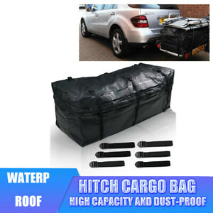 48x19x22 Cargo Luggage Trailer Rear Hitch Mounted Carrier Storage Travel Bag