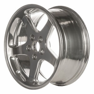 03306 Refinished Ford Mustang Cobra 1999 2001 17 Inch Wheel Rim Polished