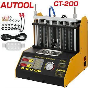 Autool Ct200 Ultrasonic Fuel Injector Cleaner Tester For Petrol Car Motor Usa