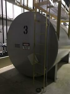 8 000 Gallon Horizontal Single Wall Steel Fuel Cell storage Tank