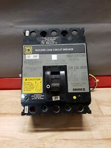 Square D Circuit Breaker Fhl3605014dc1616 50a Dc 600v free Shipping