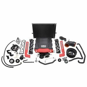 Edelbrock 15590 E Force Stage 1 Street Systems Supercharger Fits 2016 18 Camaro