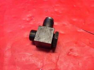 Ford Tractor Power Steering Pump Square Line Fitting 601 701 801 901 2000 4000