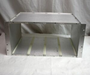 19 Rack Mount Enclosure For 4 Ludlum Model 306 Radiation Monitor Control Units