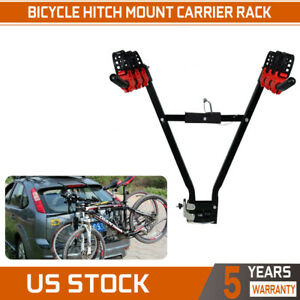 New Auto Car Tuck Suv Rear 3 Bike Bicycle Hitch Mount Carrier Rack Hanger