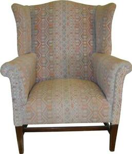 17225 Chippendale Wing Back Arm Chair