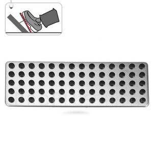 Foot Rest Dead Pedal Cover Accessories For Mercedes W205 W212 W213 X253 W166