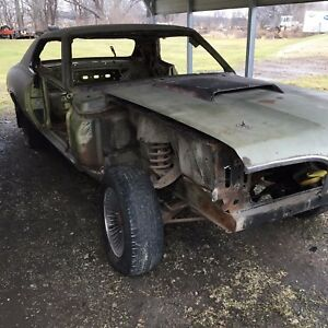 1970 Mercury Cougar W Factory Hood Scoop Parts Car Muscle Car Barn Find Ford