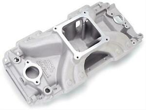 Edelbrock 28070 Victor 454 o Large Oval Port Intake Manifold 3500 To 8000 Rpm