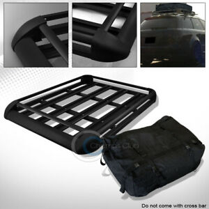 Universal 50 Blk Roof Rack Basket Travel Luggage Holder Tray Waterproof Bag C04