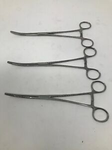 Suture And Needle Holder Forceps Lot 3