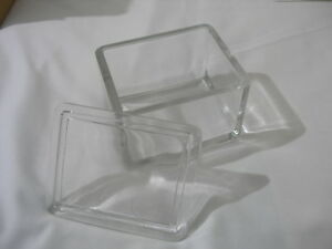 2x Wheaton 20 Slide Glass Staining Dish And Cover 900203