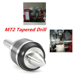 Mt2 0 0002 Long Nose Live Center Morse Taper Drill Bearing Lathe Turning Valid