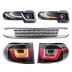 Led Headlights Tail Lights Grille For 2007 2015 Toyota Fj Cruiser 4 0l