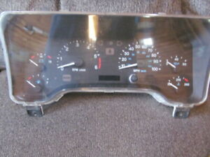 1997 98 99 2000 Jeep Wrangler Tj Dash Speedometer Tachometer Cluster 56009171ac