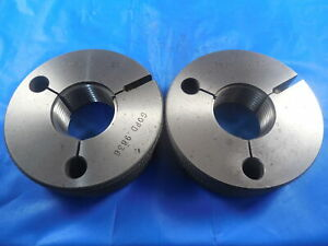 1 030 14 Ngo Thread Ring Gages 1 03 Go No Go P d s 9836 9796 Inspection