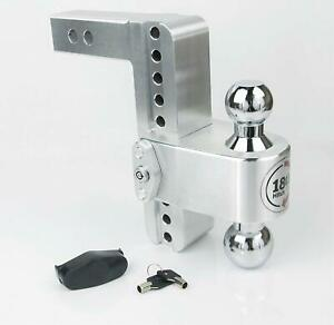 Weigh Safe Ctb8 2 Adjustable 8 180 Hitch Ball Mount 2 Shaft 10 000 Lbs