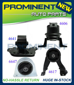 Engine Motor Trans Mount 4pcs For 2002 2007 Mitsubishi Lancer 2 0l Automatic