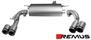 Remus Cat Back Exhaust For Bmw F30 F31 F32 335i 435i Warehouse Special Quad