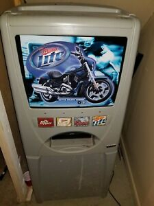 Soda Vending Machine Perfect For A Garage Or Party Area Works Great
