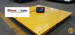 10 000 Lb 40 x40 Floor Scale Pallet Warehouse 5 Year Warranty With Indicator