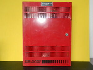 Est Edwards Bps10a Remote Booster Fire Alarm Power Supply Bps 10a Cabinet