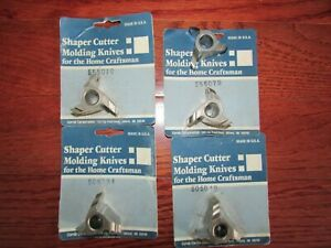 5 Shopsmith Shaper Cutter Molding Knives Corob Corporation