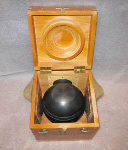 Soviet Russian Marine Gyrocompass Gyro Sphere Gyro Compass Made In Ussr 1980
