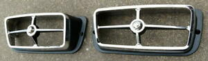New 1969 Shelby Park Lamp Turn Light Bezels Beautiful Reproduction And Cougar