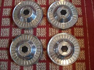 1954 Packard Clipper Set Of Four Small Oem Hubcaps