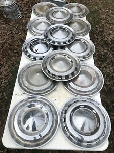 1956 Chevy Hubcaps 13 Of Them