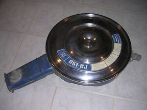 1971 Mustang Torino Ranchero 351 Cj Air Cleaner Assembly D1of 90626 Ba