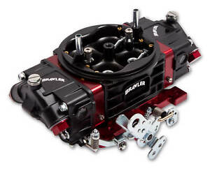 Quick Fuel Br 67332 850 Cfm Race Carburetor Carb Red Black Double Pumper