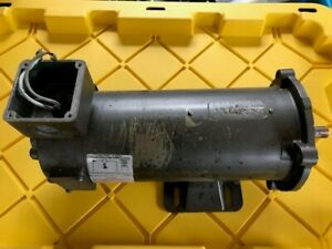 Baldor Reliance Dc Motor 1 Hp 56c 90 Volt Removed From Conveyor With Drive