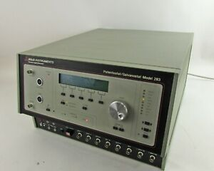 Eg g Instruments Princeton Applied Research Potentiostat Galvanostat 283