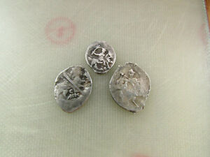Lot Of 3 Coins Medieval Silver Coins 4
