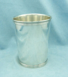 Very Rare Vintage Alvin S251 Sterling Silver Mint Julep Cup No Mono