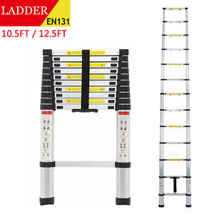 10 5 12 5ft Multipurpose Aluminum Ladder Fold Extend Telescopic Garden Tool Us