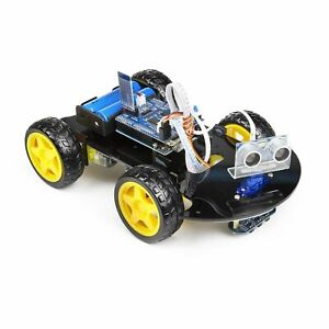 Uctronics Smart Bluetooth Robot Car Kit Uno R3 For Arduino Line Tracking