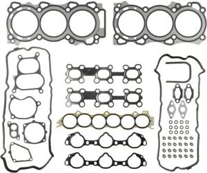 Engine Cylinder Head Gasket Set Fits 2002 2009 Nissan Maxima Quest Altima Mahle